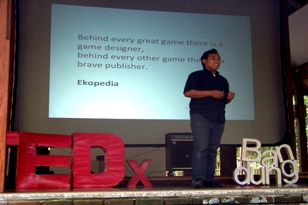 Game Designers Confession at TEDx Bandung
