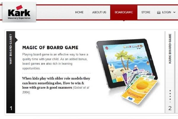 Kark Board Game