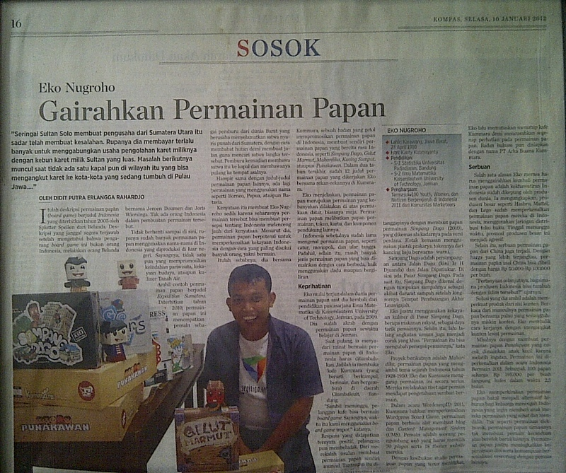 Koran Kompas, 10 Januari 2012