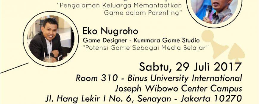 Poster Seminar Gamification Homeschooling