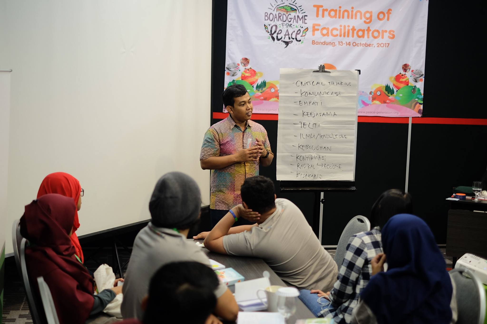 Invitation to Play at Boardgame For Peace Workshop for Facilitator