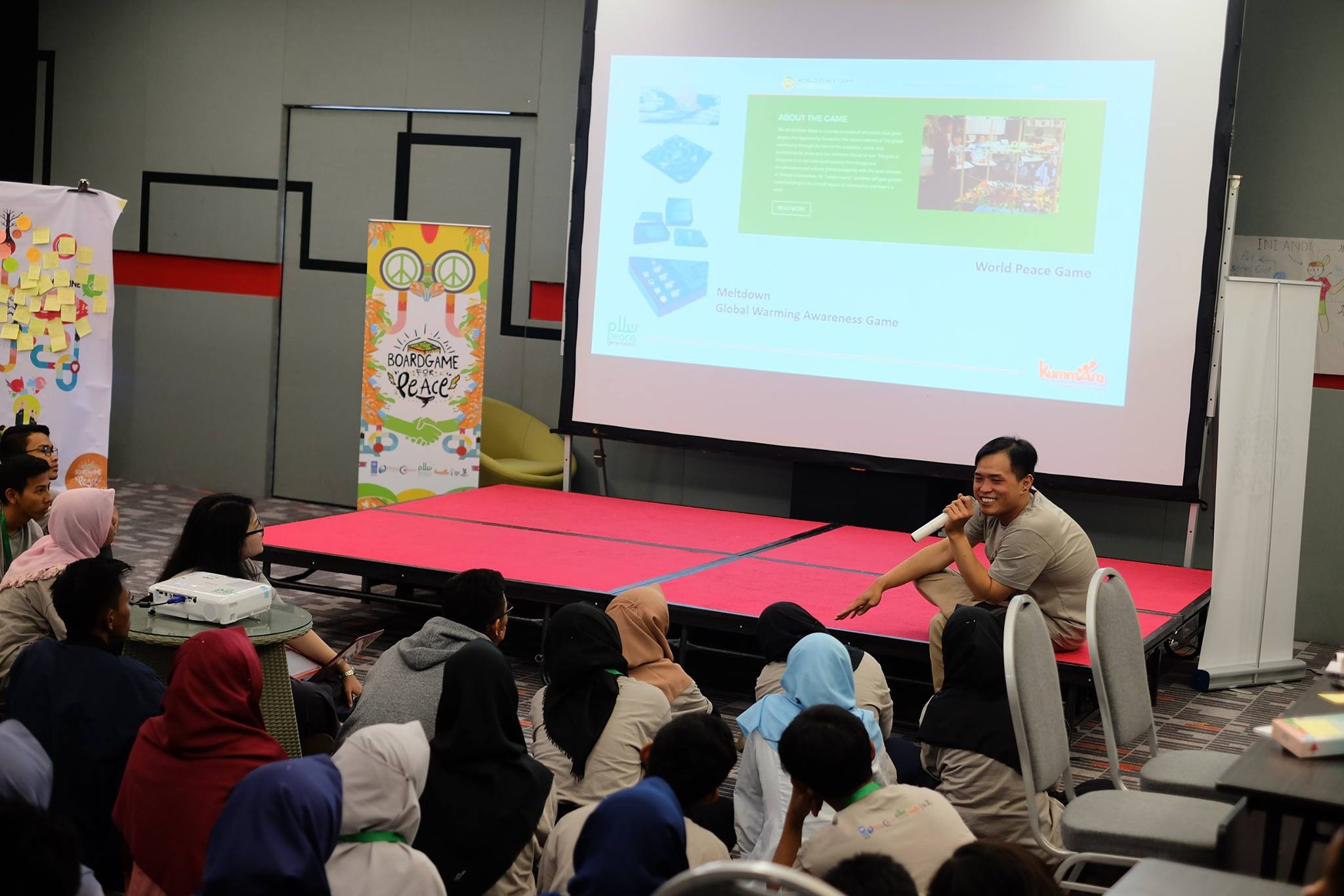 Building Trust and Tolerance at Boardgame For Peace Bandung