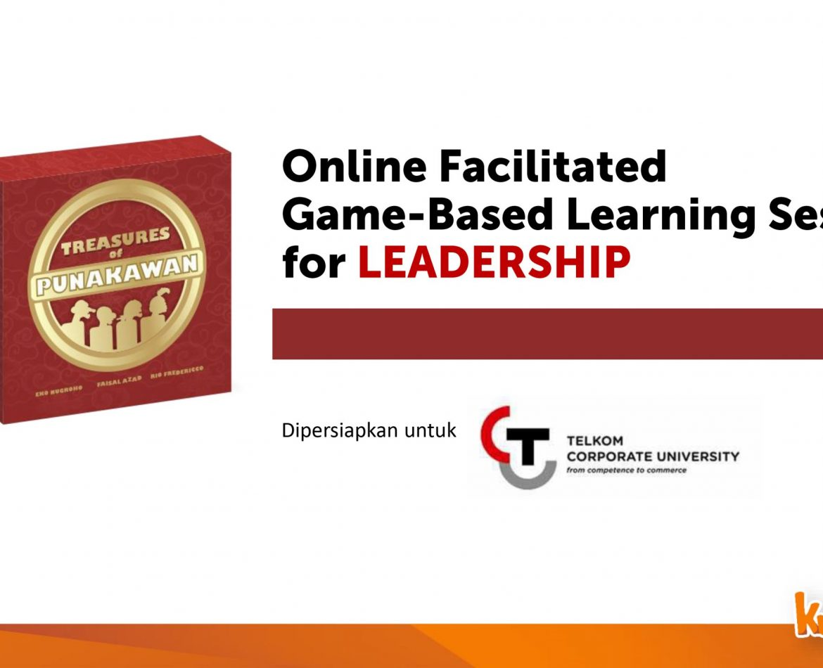 Online Facilitated Game-Based Learning Session for Leadership with Telkom Corporate University