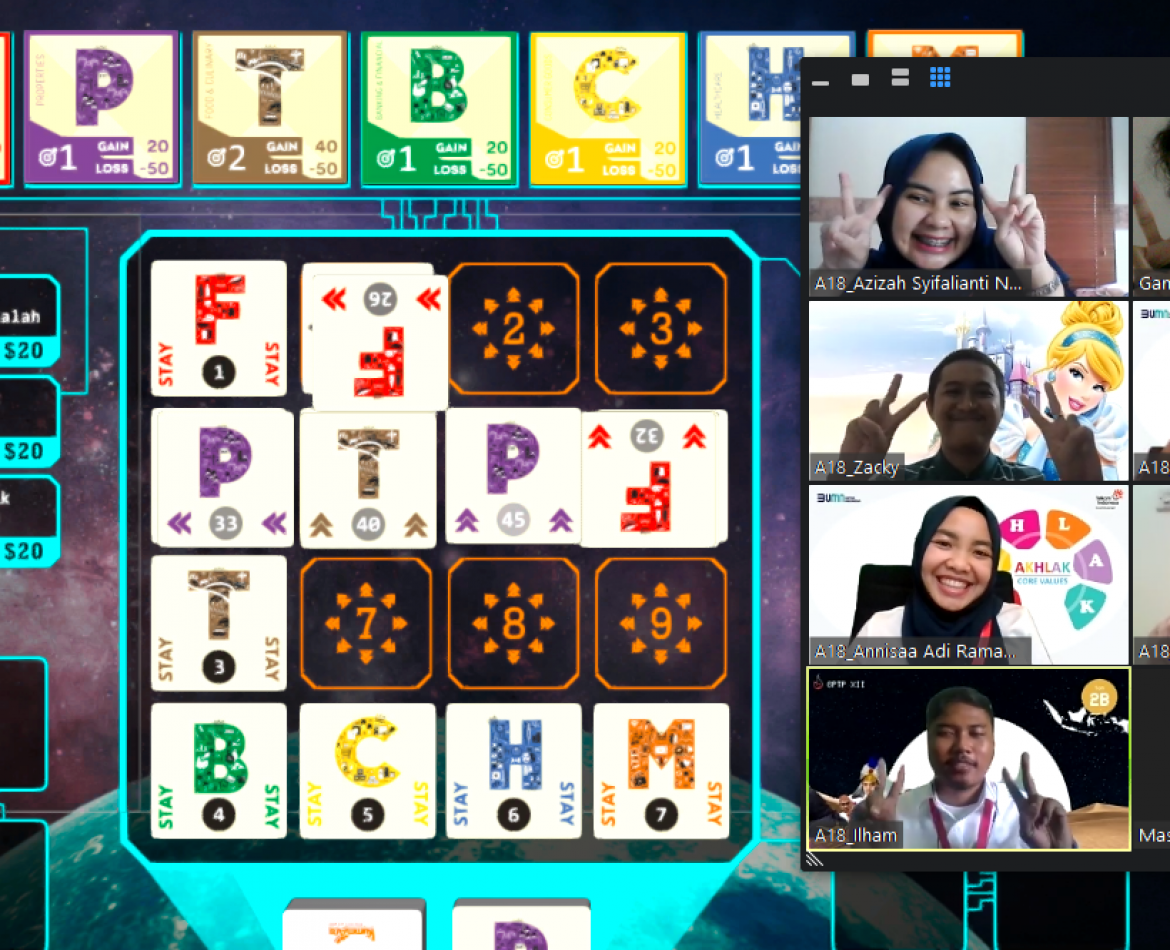"""Introduction to Business Strategy"" Online Facilitated Game-Based Learning for Telkom GPTP XII"