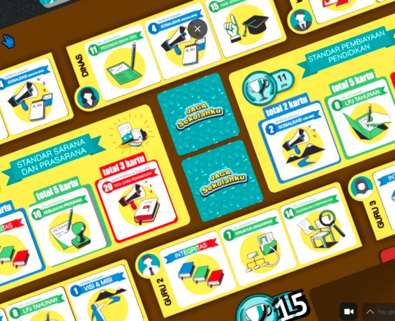 Jaga Sekolahku Online Facilitated Game-Based Learning