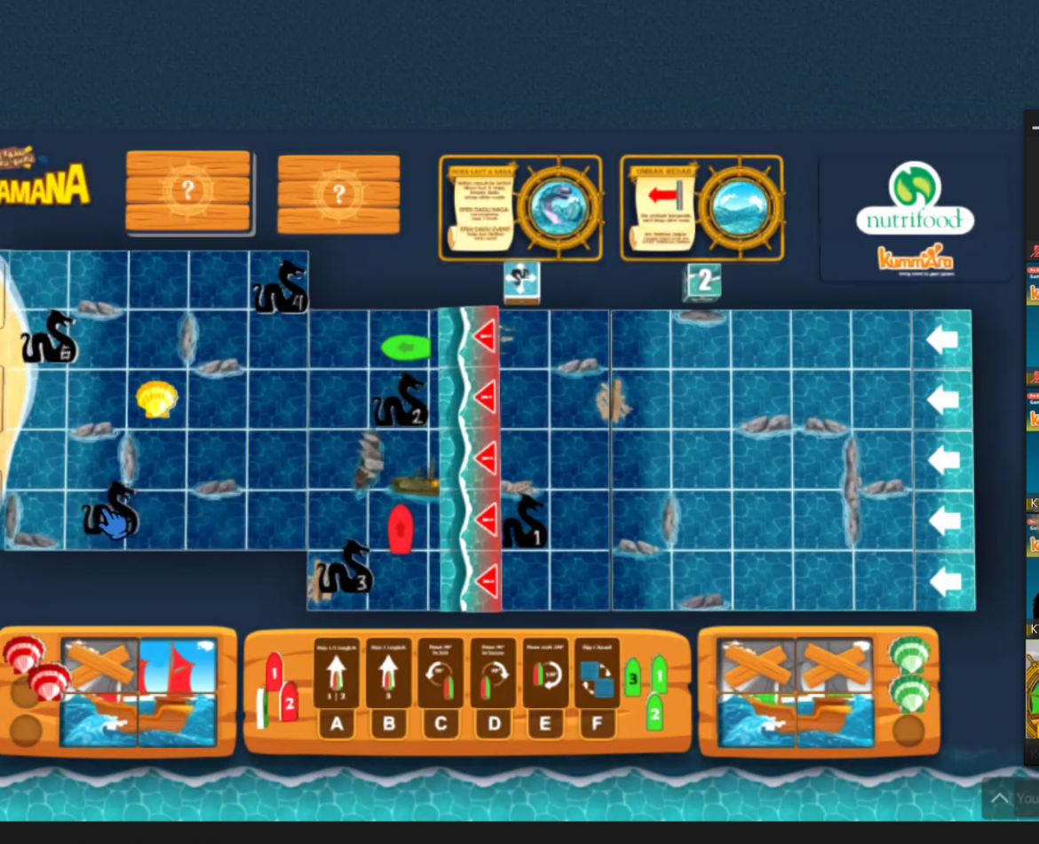 Online Facilitated Game-Based Learning: Thriving to the future